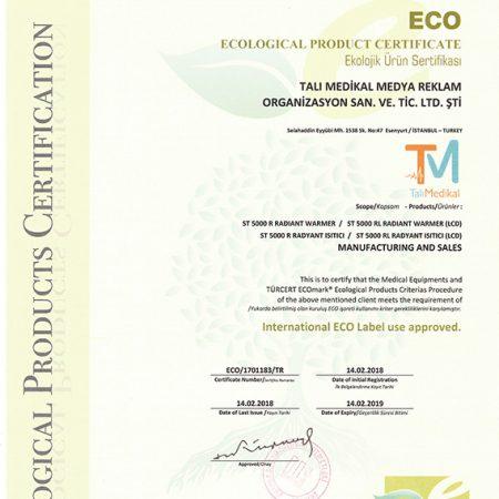 Ekolojik Ürün Sertifikası